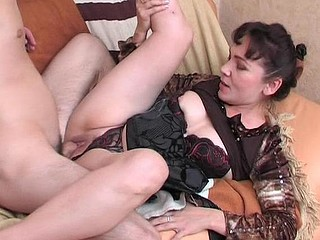Randy mother i'd similar kind to fuck massaging a guy from back to hard wang using her mouth and hands