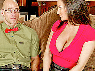 Stephanie Wylde is on a mission. Her son's most excellent fellow is a large time nerd and it's putting a strain on her son's friendship with him. Stephanie takes it upon herself to try and turn this nerd into a stud with her home made remedy...her vagina.
